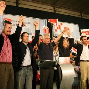 González anima a votar frente al mensaje de abstención de PP y Batasuna