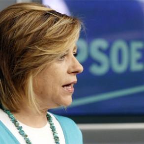 """Elena Valenciano cree que """"nunca ha estado más justificado que ahora celebrar el Debate sobre el Estado de la Nación"""""""