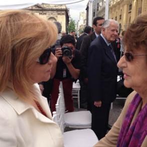 """Elena Valenciano: """"Con Carolina Tohá la ciudad de Santiago de Chile está en buenas manos"""""""