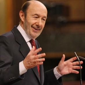 """Rubalcaba: """"A dios lo que es de dios y a César lo que es de César: a Draghi la prima de riesgo y a Rajoy sus reformas, la laboral y la de pensiones"""""""