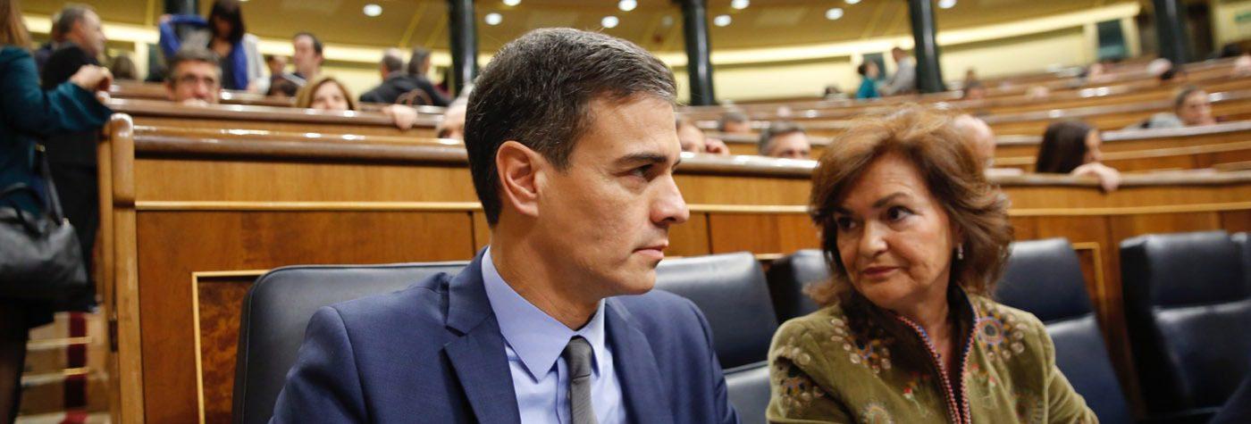 """Sánchez, a Casado: """"Los presupuestos son de sentido común. Si continúa con su oposición de gesticulación, lo pagará en las urnas"""""""
