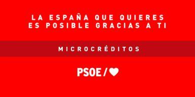 Microcréditos electorales PSOE 2019